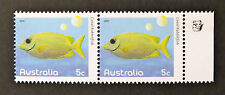 Australian Decimal Stamps: 2010 Fishes of the Reef - Part 1 - Double-1K-Tab MNH