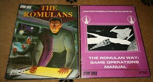 RARE! FASA Star Trek Roleplaying Game RPG - The Romulans Sourcebook