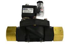 "1"" NPT Electric Plastic Solenoid Air Water Valve NC 110V AC pneumatic"
