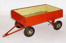 Alter Kipp Hänger Blechspielzeug Anhänger für Traktor Bulldog Schlepper Kipper