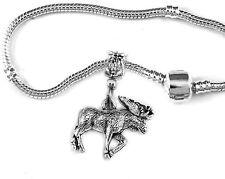 Moose bracelet Maine bracelet Canada bracelet moose jewelry gift Canadian Alaska