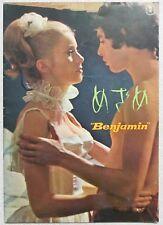 CATHERINE DENEUVE Benjamin MOVIE PROGRAM BOOK 1968 RARE JAPAN F/S