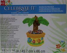 Celebrate it Inflable Palmera Enfriador Ideal Para Fiesta posee 24 latas 18x26 Nuevo En Caja