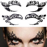 Halloween Makeup Eye Temporary Tattoo Facial Face Transfer Sticker Beauty SuppDD