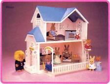 Vintage Maple Town House Mint New Box 1986 Tonka 7155 Sylvanian NRFB Rabbit Home