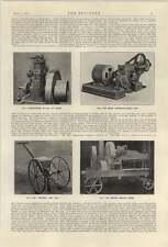 1921 Guy Self Propelling Farm Wagon Bamford Haymaker Bentall Silage Cut