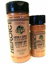 CALIFORNIA GOLD BBQ RUBS- HEROIC! (5oz) Gluten Free, No Salt/Sugar Added