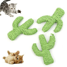 Pet Cats Kitten Cactus Shape Molar Grinding Claw Interactive Play Toy Lovely