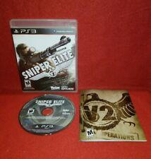 Sniper Elite V2 (Sony PlayStation 3 PS3, 2012)