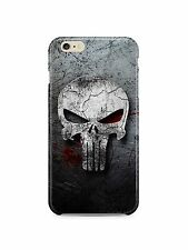 Iphone 4s 5s 5c 6 6S 7 8 X XS Max XR 11 Pro SE Plus Hard Case The Punisher