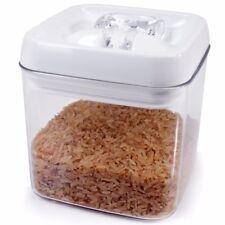 1L Square Vacuum Seal Food Box AIR TIGHT Container Dry Cereal Pasta Rice Storage