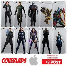 iPhone Silicone Cover Case Marvel X-Men Transformers Autobots - Coverlads