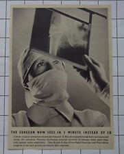 KODAK MEDICAL XRAY The Surgeon Now Sees In 1 Minute Instead Of 10 1939 News