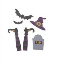 Sizzix Thinlits Die Set - Spooky Witch - 663461 - 9 Dies - New