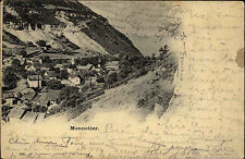 Monnetier-Mornex Frankreich France Rhône-Alpes ~1910 Panorama Stadt Häuser Ville