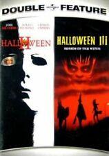 Halloween 2 & 3 (tom Atkins Jamie Lee Curtis) Two and Three Region 1 DVD