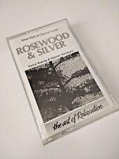 Rosewood & Silver Art of Relaxation Vance Koenig & Warren Weisbach Audiocassette