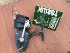 Mitchell.  Fishing Real Blue Fishing Reel Good Condition For Age.