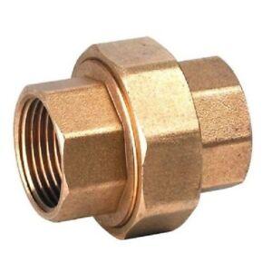 Brass Barrel Union  Female/Female
