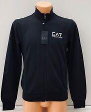 EMPORIO ARMANI EA7 Black Full Tracksuit Large EA7 Logos 7 Stripe Size XXS BNWT