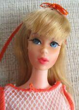 Vintage Mod Twist N Turn Barbie Doll Light Blonde TNT 1967 Org 3pc Swimsuit WOW!