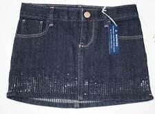 NWT Gap Kids Sequin Embellished Denim Skirt Jean Skirt 5R