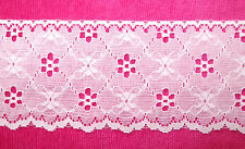 """5 yds new 3"""" gorgeous WHITE Lace TRIM crafts doll"""