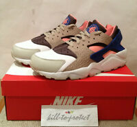 NIKE AIR HUARACHE US UK 7 8 9 10 11 12 Grey Pink Blue Size? Cement 318429-046