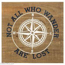 Nautical Decor Rustic Wooden Compass Wall Decor Beach House Decor Ocean Sea New!