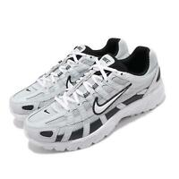 Nike P-6000 Grey White Black Mens Retro Running Shoes CD6404-006