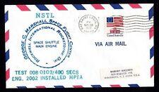 Estados unidos NSTL Space Shuttle Main Engine test 008-0103/400 Seconds