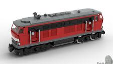 PDF-Bauanleitung: DB BR-215 Cargo Lok aus Noppensteinen, u.a. Lego