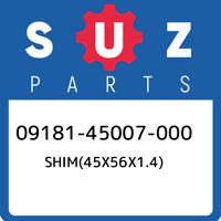 09181-45007-000 Suzuki Shim(45x56x1.4) 0918145007000, New Genuine OEM Part