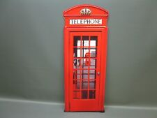 Panneau Métallique XXXXL Anglais Cabine Téléphonique 75 CM X 28 1,7 KG Londres