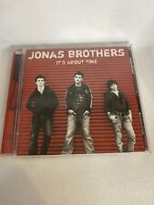 JONAS BROTHERS - IT'S ABOUT TIME MUSIC CD  AUTHENTIC US VERSION
