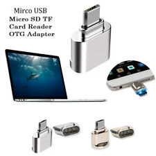 Alloy USB 3.1 Mirco USB Micro SD TF Card Reader OTG Adapter for Android Phones