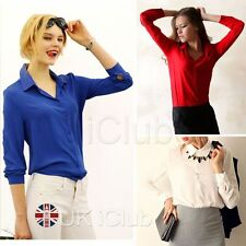 Chiffon Regular Fitted Tops & Shirts for Women