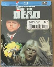Shaun of the Dead Bluray Fye Exclusive Limited Edition SteelBook Blu-Ray Dvd