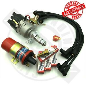 MGB GT ROADSTER Electronic Ignition Service Pack Distributor,Coil,Leads & Plugs