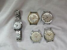 5 VINTAGE WATCHES ORIS TIMEX SWISS ONE AUTOMATIC OTHERS MECHANICAL