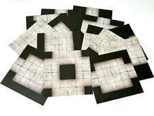 """6""""x6"""" Modular Dungeon Flip Tiles - RPG Map game mat dnd D&D pathfinder D20"""