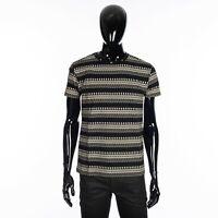 SAINT LAURENT 890$ Crewneck Tshirt In Black Cotton Jersey With Skeleton & Studs