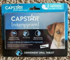 Capstar 2-25 Lb Dog Flea Treatment - 6 Count - Expiration Date 01/2023