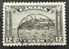 #174 1930 King George V - Quebec Citadel used VF