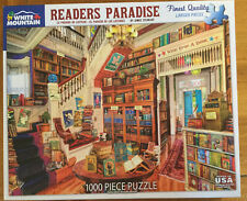Jigsaw Puzzle 1000 pcs White Mountain Readers Paradise