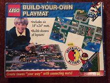 LEGO Build Your Own Playmat HUGE Road Layout Interlocking Foam 6 Play Mats City