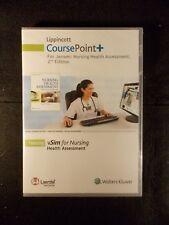 Lippincott CoursePoint+ For Jensen: Nursing Health Assessment 2nd Edition CDROM