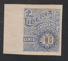 Liberia # O101 MINT Proof MISSING OS (no gum)