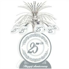 25th Anniversary Centerpiece 13 Inch Anniversary Party Supplies Decorations