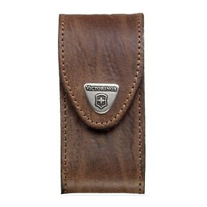 Victorinox 5-8 layer belt pouch for swiss army knife - Brown Leather holster